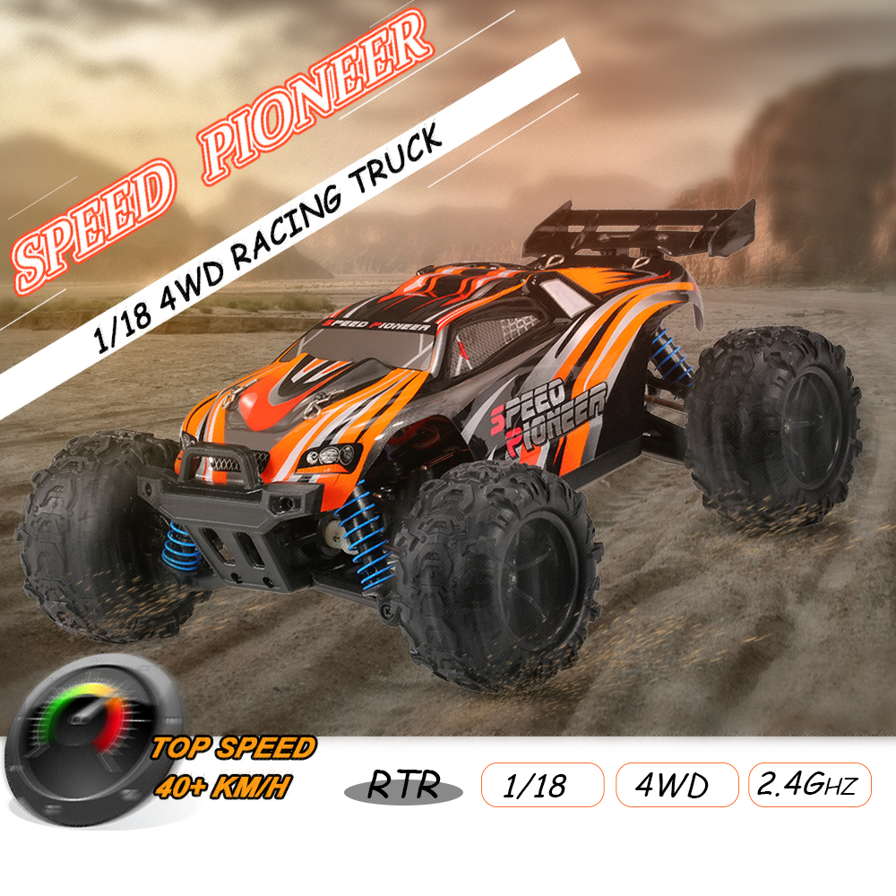 Get  $6.99  Off For Original PXtoys NO.9302 Speed Pioneer 1/18 2.4GHz 4WD Off-Road Truggy High Speed RC Racing Car RTR with code   Only $45 +free shipping