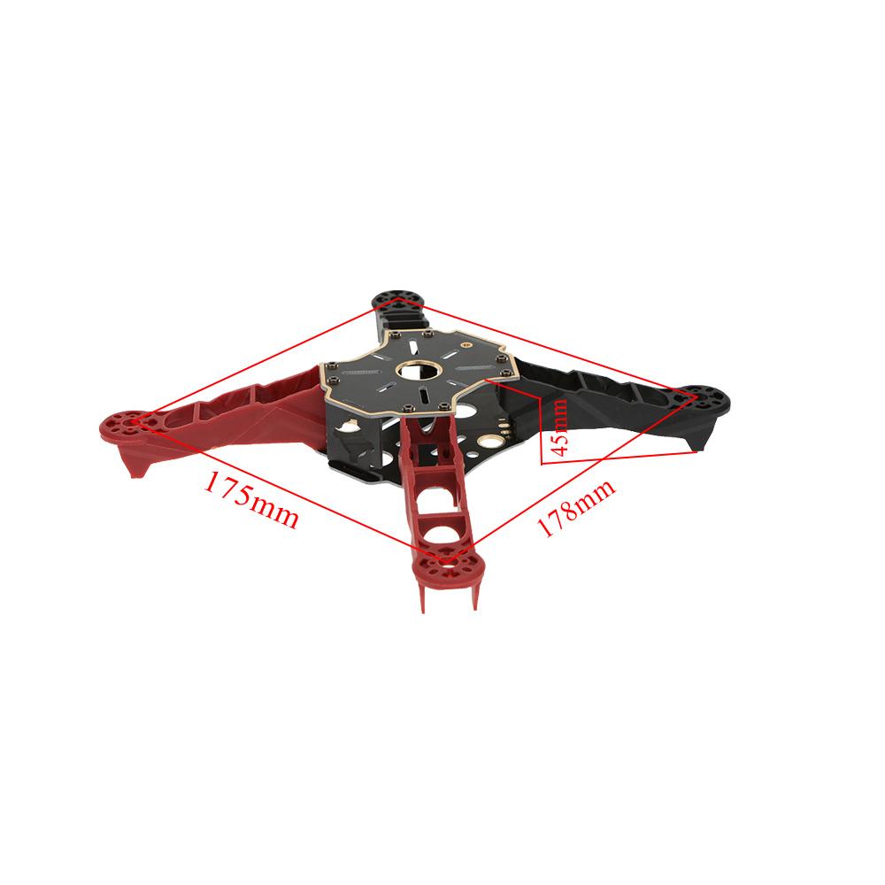 black Totem Q250 250mm 4 Axis Mini Quadcopter Frame Kit for FPV ...