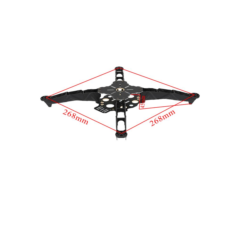 Totem Q380 380mm 4 ejes Kit Marco mini Quadcopter para FPV ...
