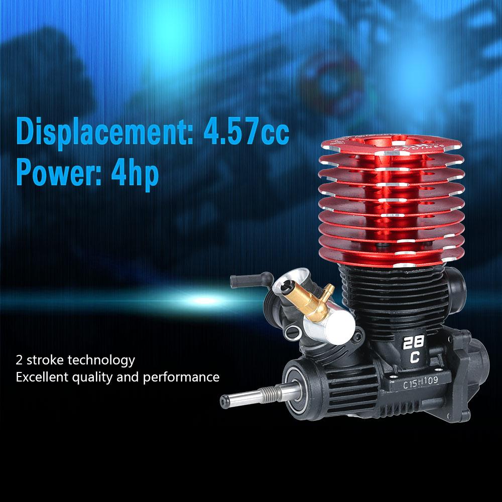 Original SH 28 P8 457CC 2 Stroke Engine With Glow Plug For