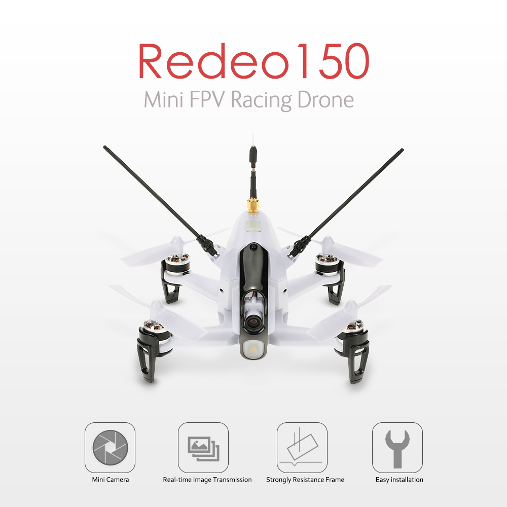 $169.99 For Original Walkera Rodeo 150 5.8G FPV Racing Drone with code EDMM5882