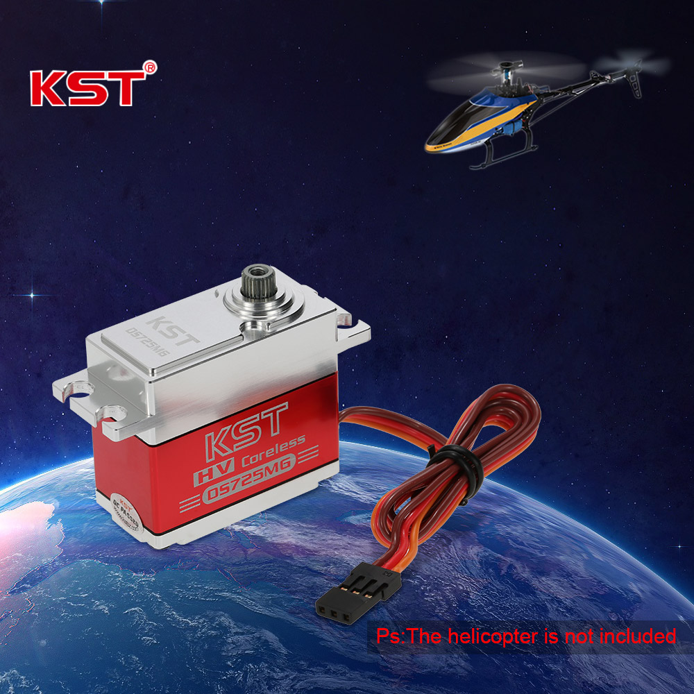 KST DS725MG Standard HV Metal Case Metal Gear Digital Servo for 550 RC  Helicopter Airplane - Rcmoment com