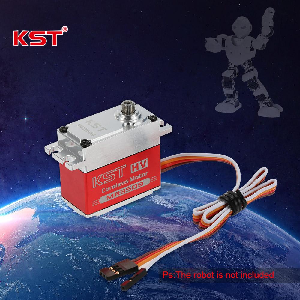 Original KST MR3509 HV Aluminum Alloy Case Contactless Position Sensor  Steel Gear Digital Servo for Robot - RcMoment com