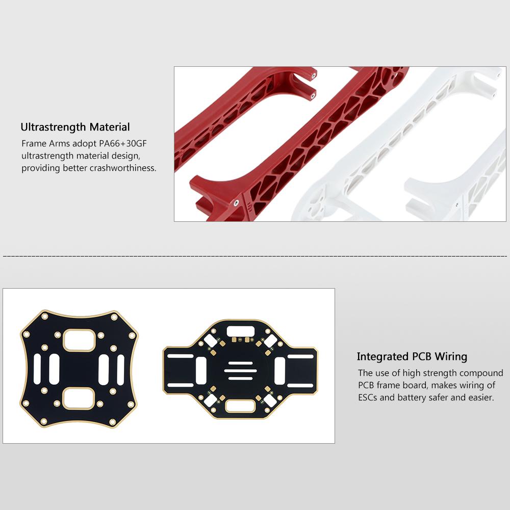 original dji flame wheel f450 arf kit naza m v2 gps e305. Black Bedroom Furniture Sets. Home Design Ideas
