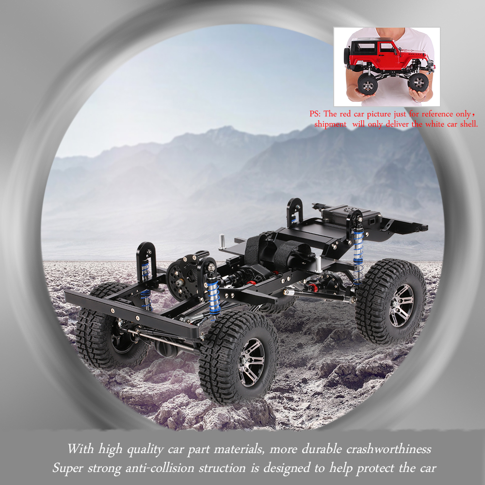 Get 50$ off AX-D9001 All metal CNC Frame for 1/10 D90 Rock Crawler RC Car