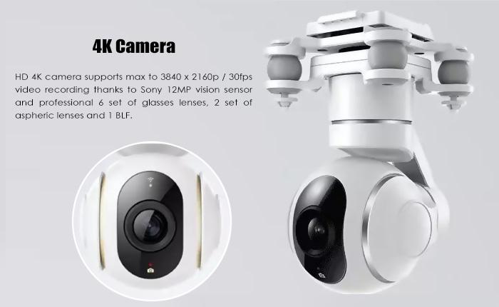 Original XIAOMI Mi Drone 4K Camera WiFi FPV 3-Axis Gimbal GPS ...