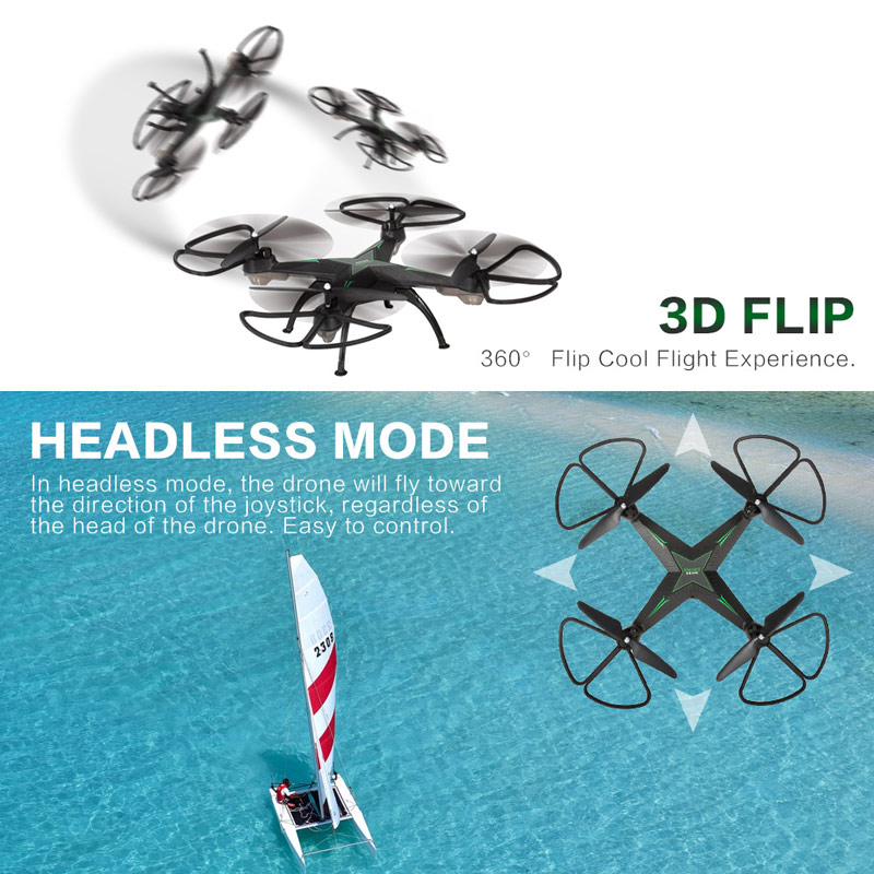 Get $4.1 Off For YI HENG YH10H 2.4G 4CH Drone Altitude Hold One Key Return Headless Mode RC Quadcopter with code  Only $36.89 +free shipping