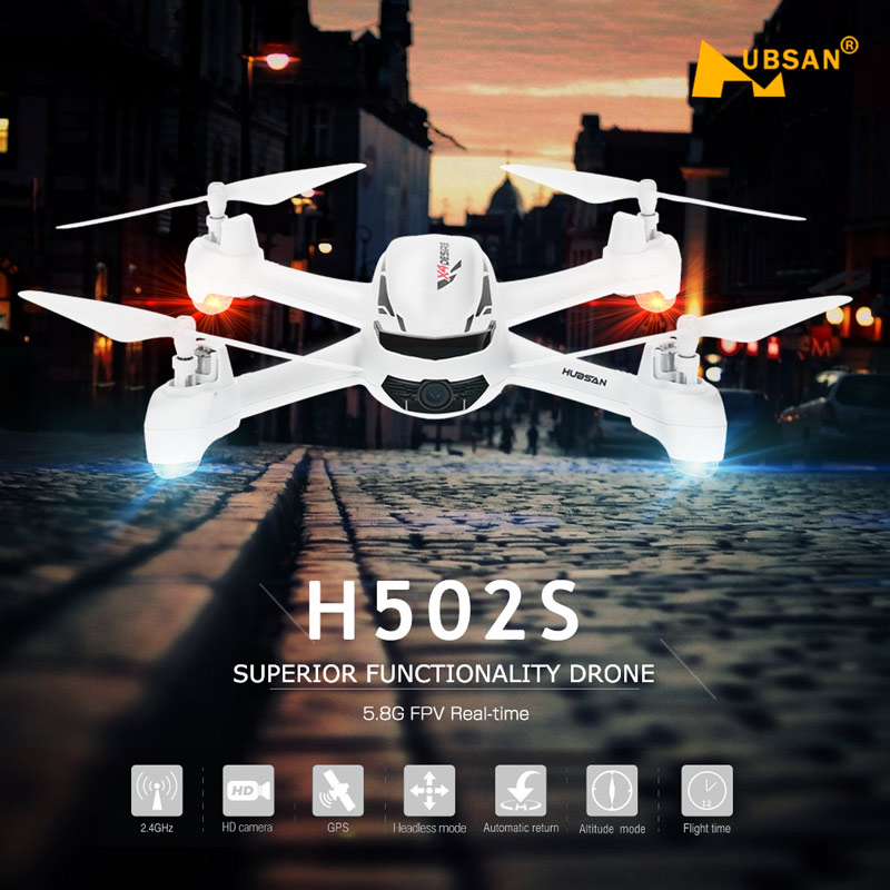 Get 40$ off  Hubsan  5.8G FPV 720P HD Camera Drone RC Quadcopter with GPS Follow Me CF Mode for $129.99