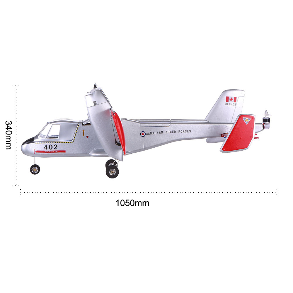 Original Unique CL-84 950mm Wingspan Tilt-wing VTOL Vertical Takeoff &  Landing EPO Drone Fixed-wing Aircraft PNP Version RC Airplane(with ESC,  Motor,