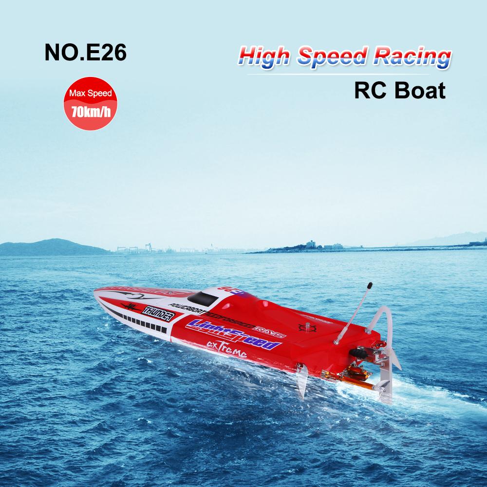 No E26 Thunder 70km H Racing Rc Boat With Servo Esc Motor