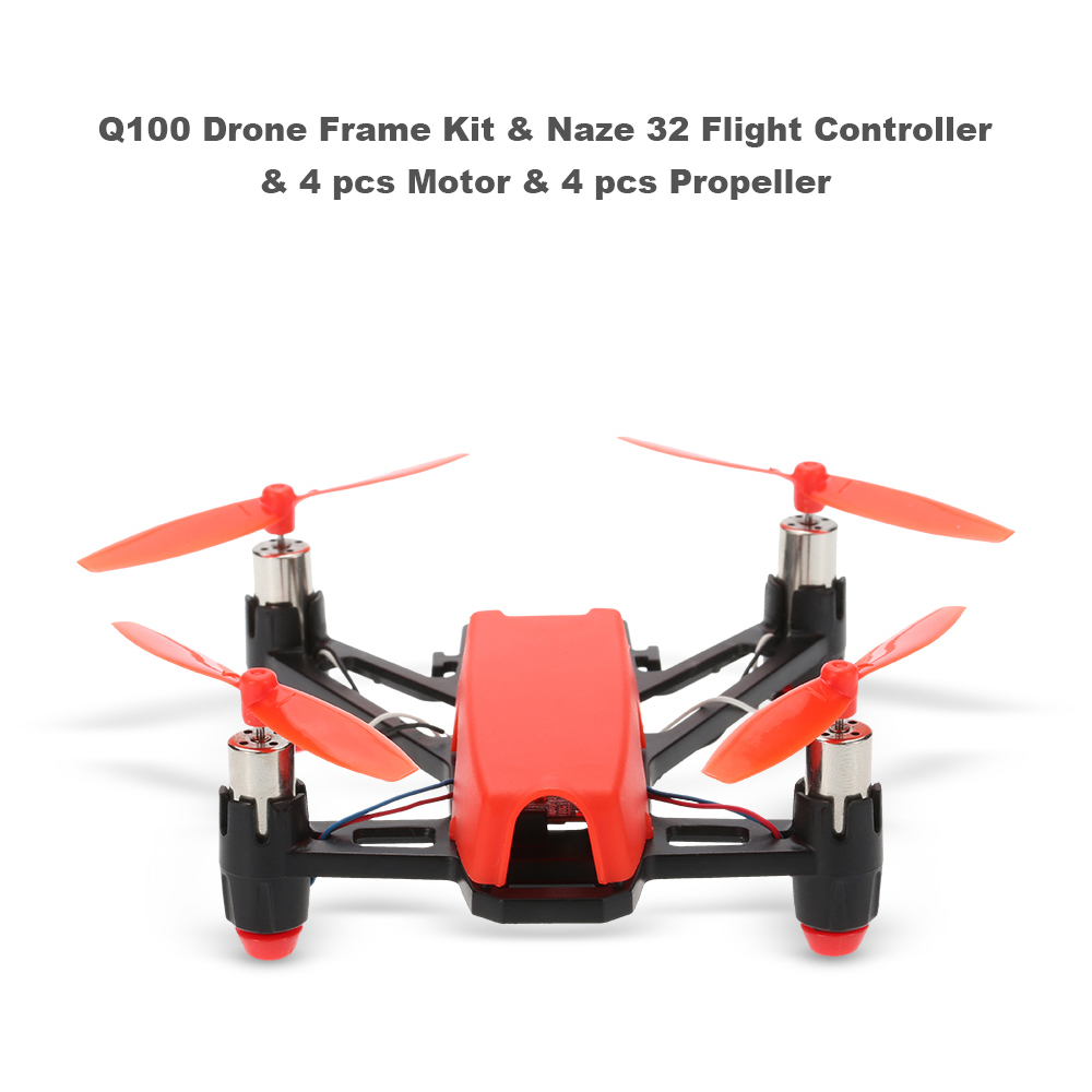 Q100 Super Mini 4 Axis Micro Fpv Racing Quadcopter Frame Kit With Flamewheel F450 Wiring Diagram Customer Reviews