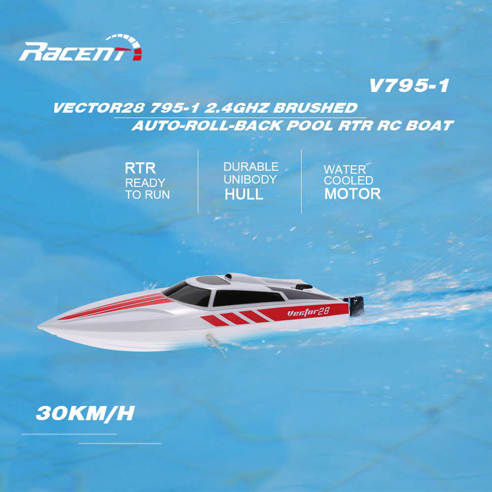 Volantex Boat-Brushed 30km/h HIGH SPEED RC RACING BOAT. Familyloves.com