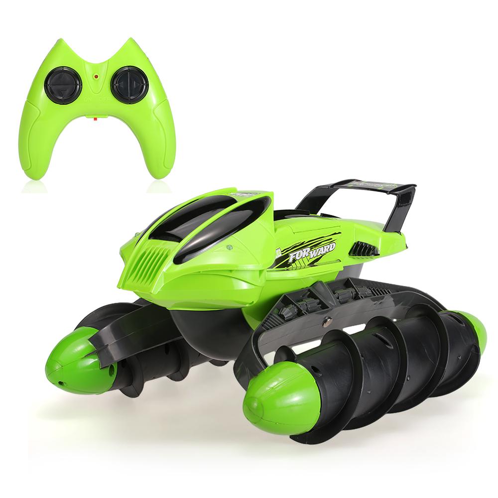 Green Us Xiongqi 989 393 2 4ghz Amphibious Stunt