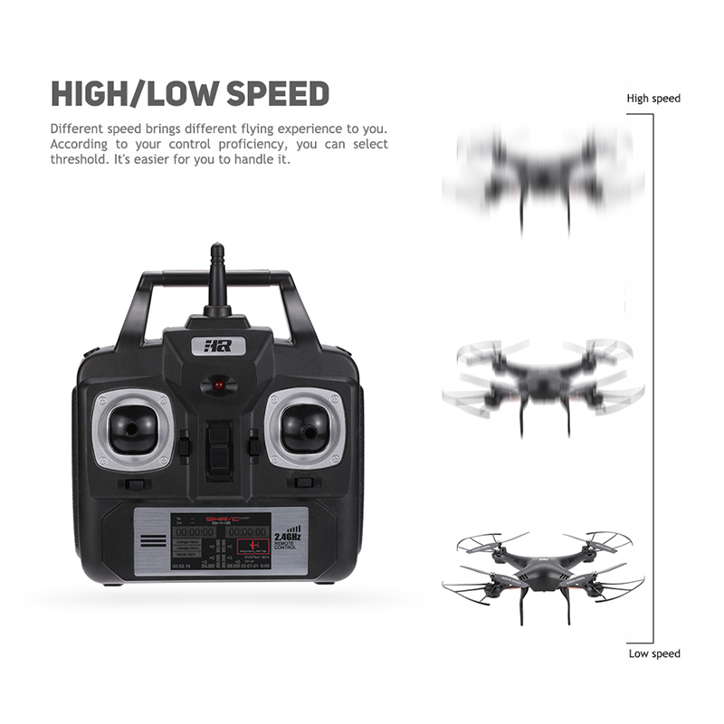 Original HR SH5 24G 4CH 6 Axis UAV Drone Headless Mode 3D Flip RTF
