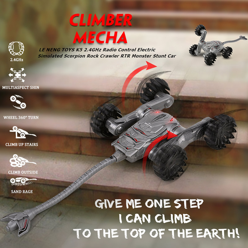 Only $58.19 For LE NENG TOYS K5 Off-road Rock RC Car with code EJ9062