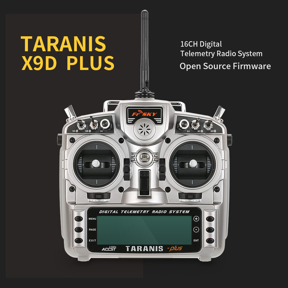 Get $14 Off For FrSky Taranis X9D Plus Telemetry Radio Transmitter with code   Only $185.99 +free shipping