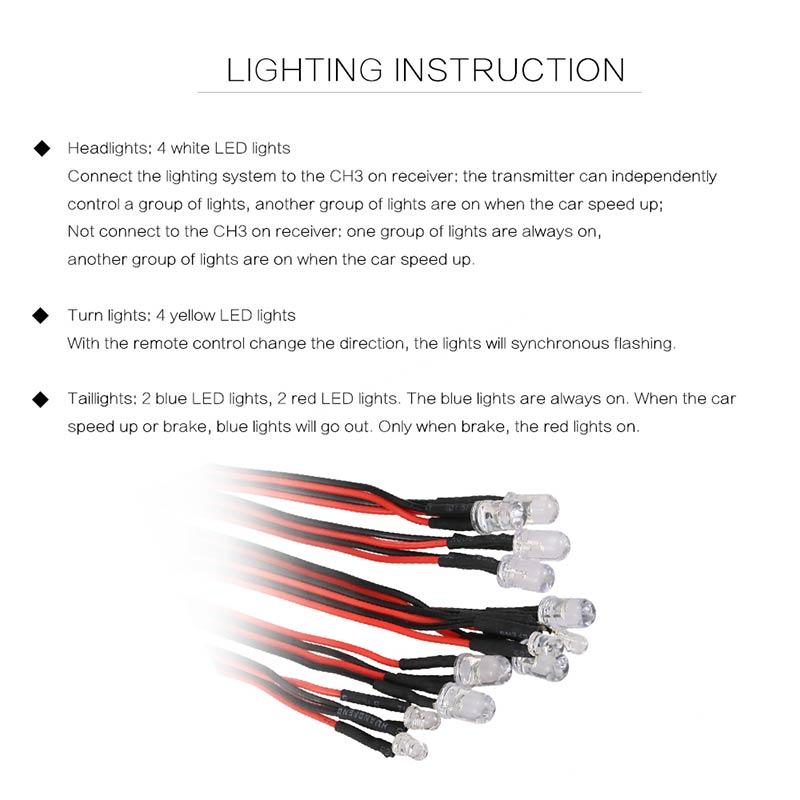 Superb 12 Led Lighting System Kit Steering Brake Smart Simulation Flash Wiring Database Liteviha4X4Andersnl