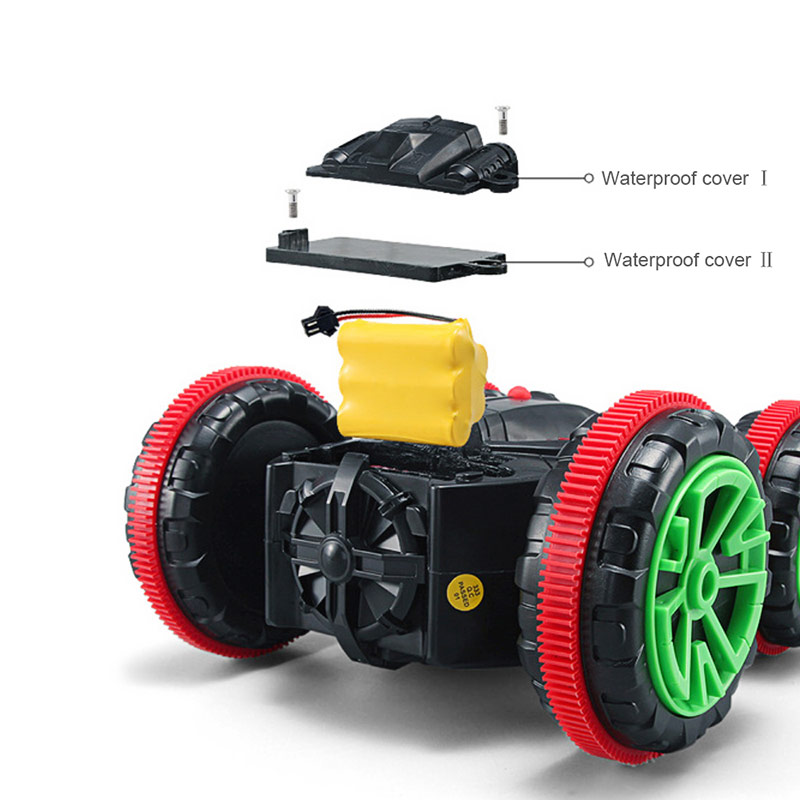 Waterproof Rc 4 Wheel Drive : Zhencheng sl b g wd waterproof amphibious double