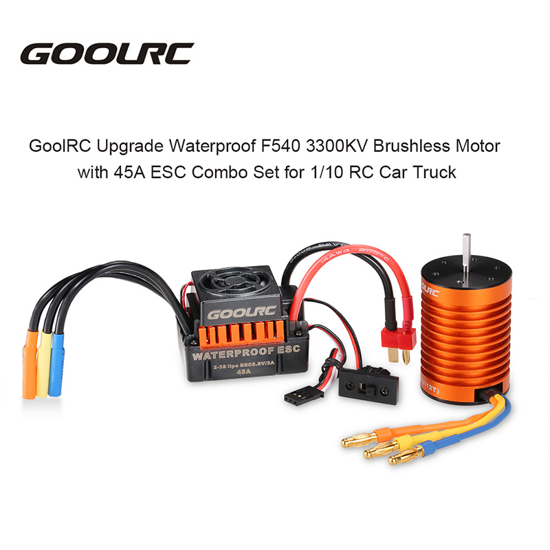 Waterproof function motor and ESC let your car challenge the muddy road. Providing much convenience for your 1/10 RC car truck.