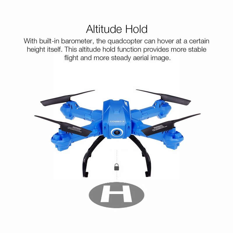 Only $55.99 For Original JJR/C H38WH Wifi FPV 720P HD 120° Wide Angle Camera Drone with code EJ7783