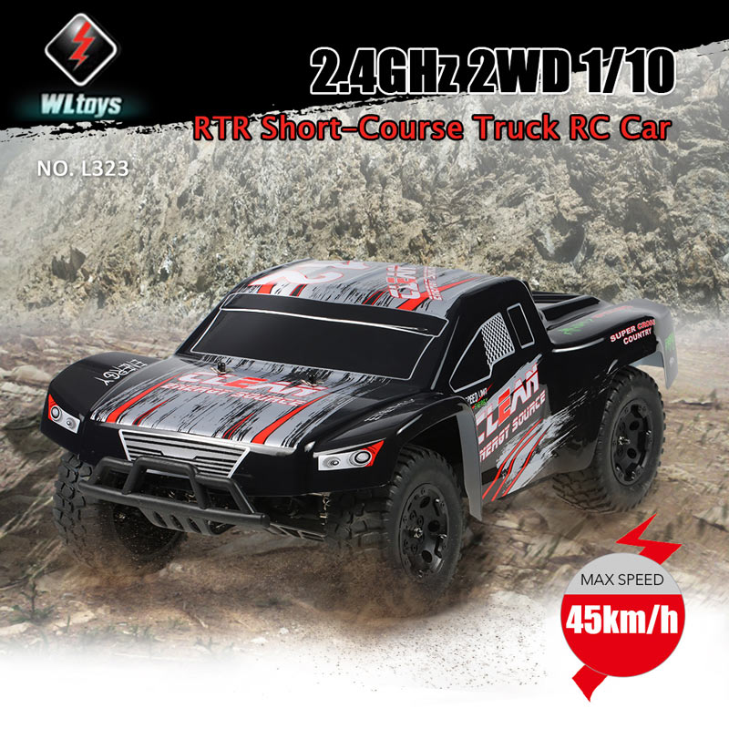 $129.99 For WLtoys L323 2.4GHz 2WD 1/10 45km/h RC Car with code EDM7841