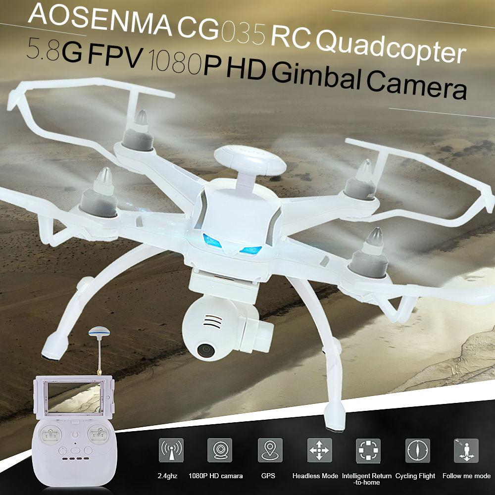 Get 36.99$ off  OSENMA  Brushless Double GPS 5.8G FPV RC Quadcopter RTF Drone with 1080P HD Gimbal Camera Follow Me Mode