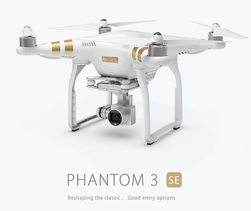 Get 61$ off  DJI Phantom 3 SE Wifi FPV 4K UHD Camera Drone 4km Long-distance Control Vision Positioning System GPS Quadcopter