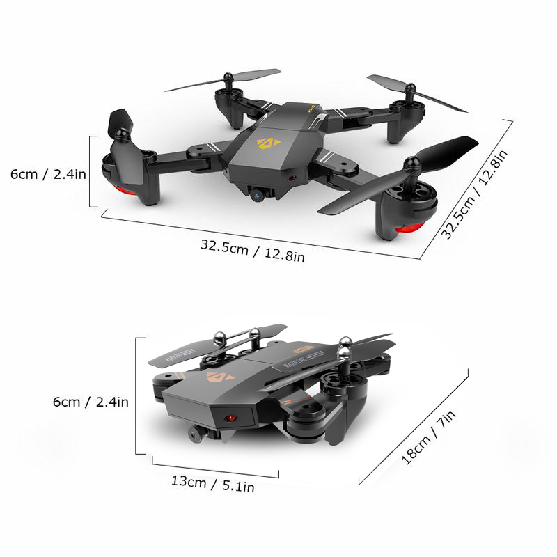 Reasonable Drone X Pro 1080p Hd Camera Wifi App Fpv Foldable Wide-angle 4* Batteries Buy One Get One Free Radio Control & Control Line Rc Model Vehicles & Kits