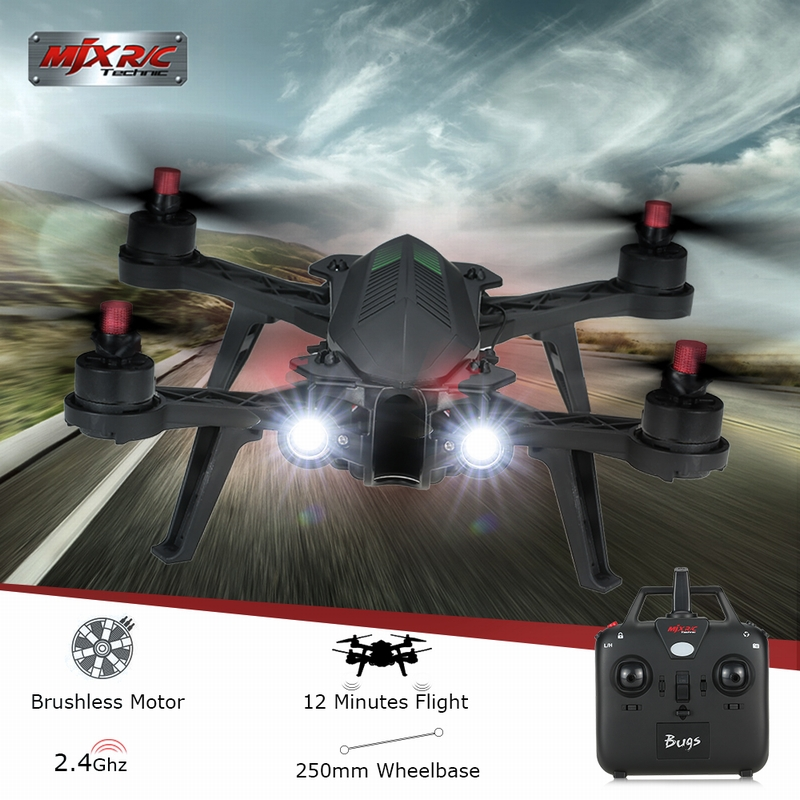 Get Extra $10 Off MJX Bugs 6 Brushless 2.4G 4CH 3D Flip 250mm Racing Quadcopter RTF Drone