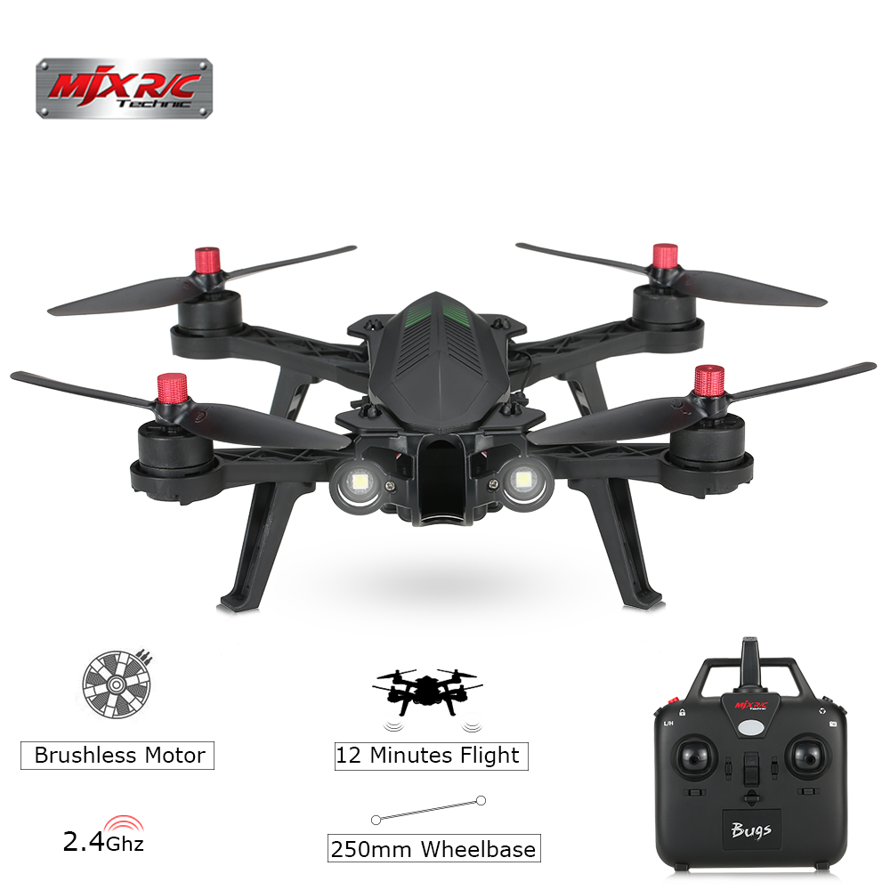 $10 OFF MJX Bugs 6 B6 5.8G FPV High Speed 720P Camera Brushless Controller Racing Drone,free shipping $119.99