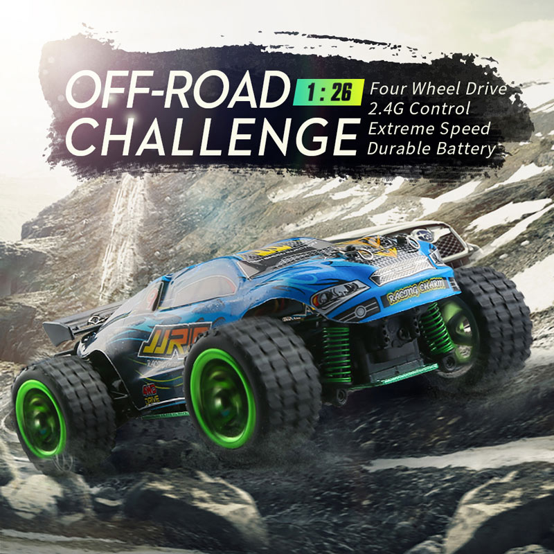 Get  $9  Off For JJRC  Q36 2.4GHz 4WD 1/26 Electric RTR High Speed Buggy RC Car with code   Only $33.99 +free shipping
