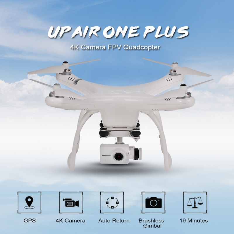 Extra 10 USD Off For Upair One Plus 16MP Camera 4K Brushless 5.8G FPV Drone