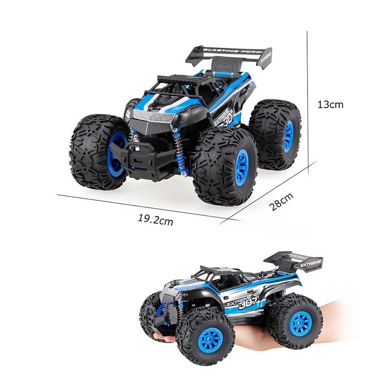 CRAZON 1/18 2.4G 2WD Electric Monster Truck Off-road Vehicle RTR RC Car -  RcMoment.com
