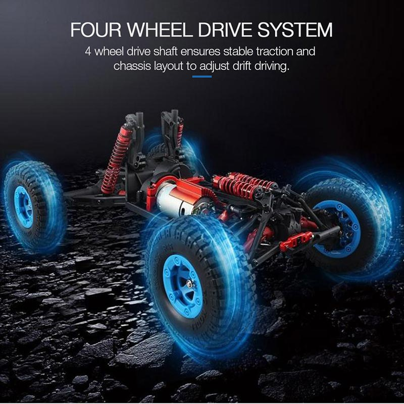 Get  $52  Off For Original JJR/C Q39 2.4GHz 1/12 4WD RTR Desert Off-road Vehicle Short-course Truck RC Car with code   Only $60.99 +free shipping