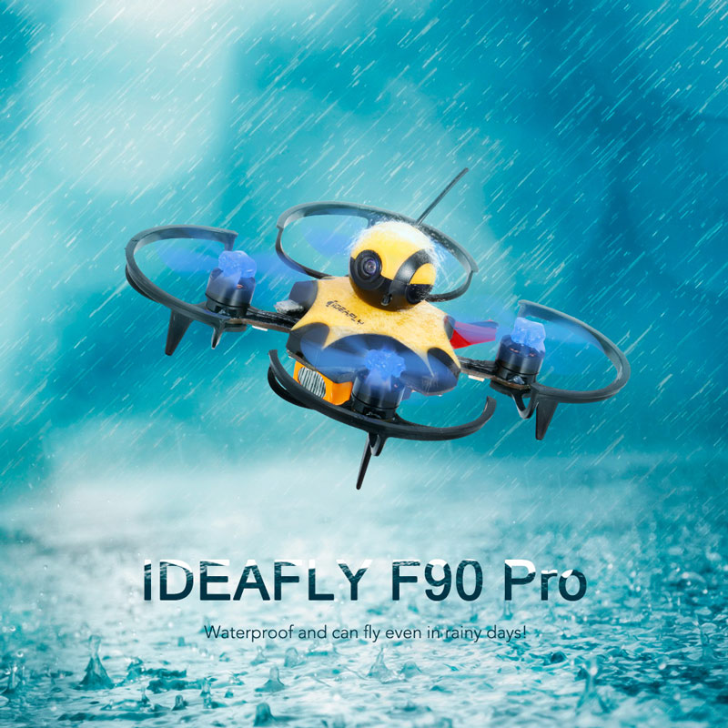 Get 30$ off  IDEAFLY F90 Pro 90mm 5.8G 40CH 600TVL Waterproof FPV Racing Drone 1104 Brushless Motor F3 Flight