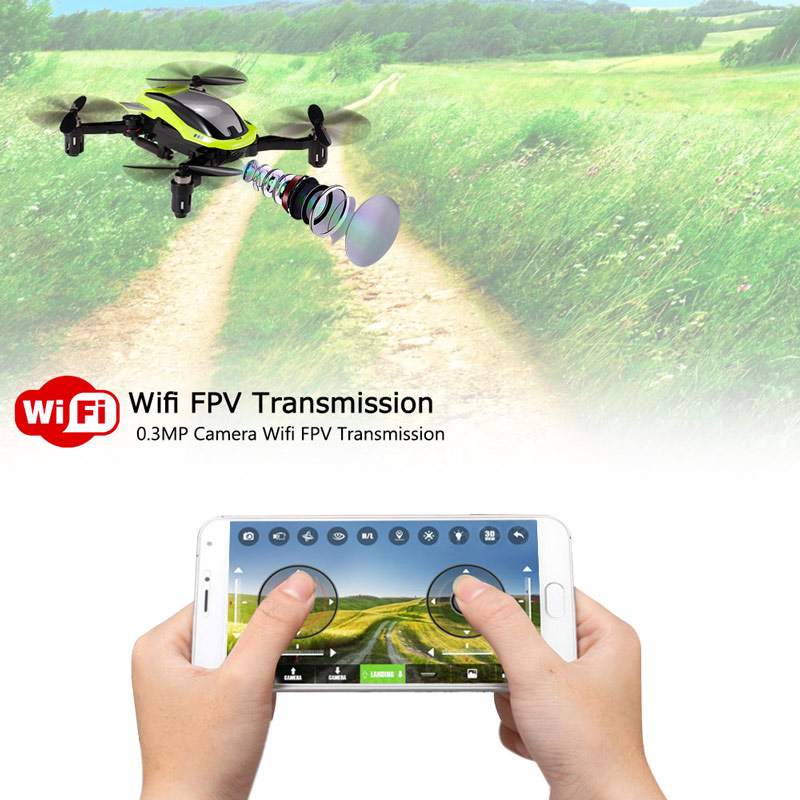 Get $3 Off For Kai Deng K100 EQUATOR 0.3MP Camera WiFi FPV Foldable Drone Altitude Hold G-sensor APP Control Quadcopter with code  Only $36.99 +free shipping