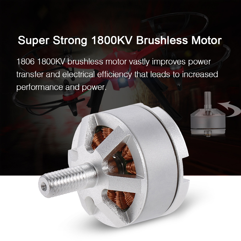 1806 1800kv Brushless Motor Cw For Mjx Bugs 3 Rc