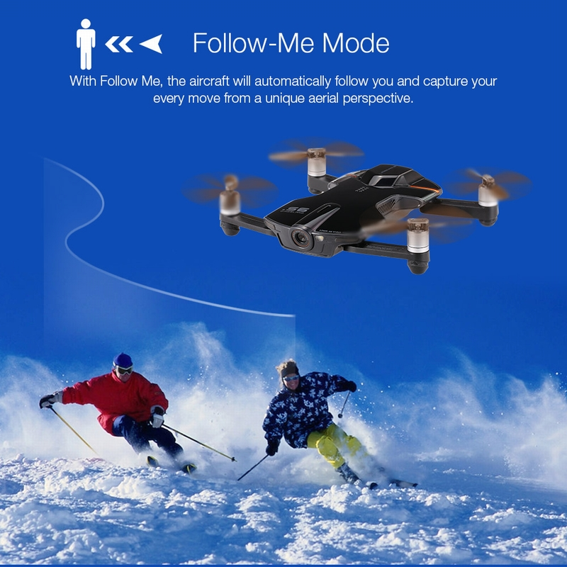 Get $10  Off For WINGSLAND S6 Pocket Selfie Drone Wifi FPV With 4K 13MP HD Camera Optical Flow GPS Smart RC Quadcopter with code   Only $279.99 +free shipping