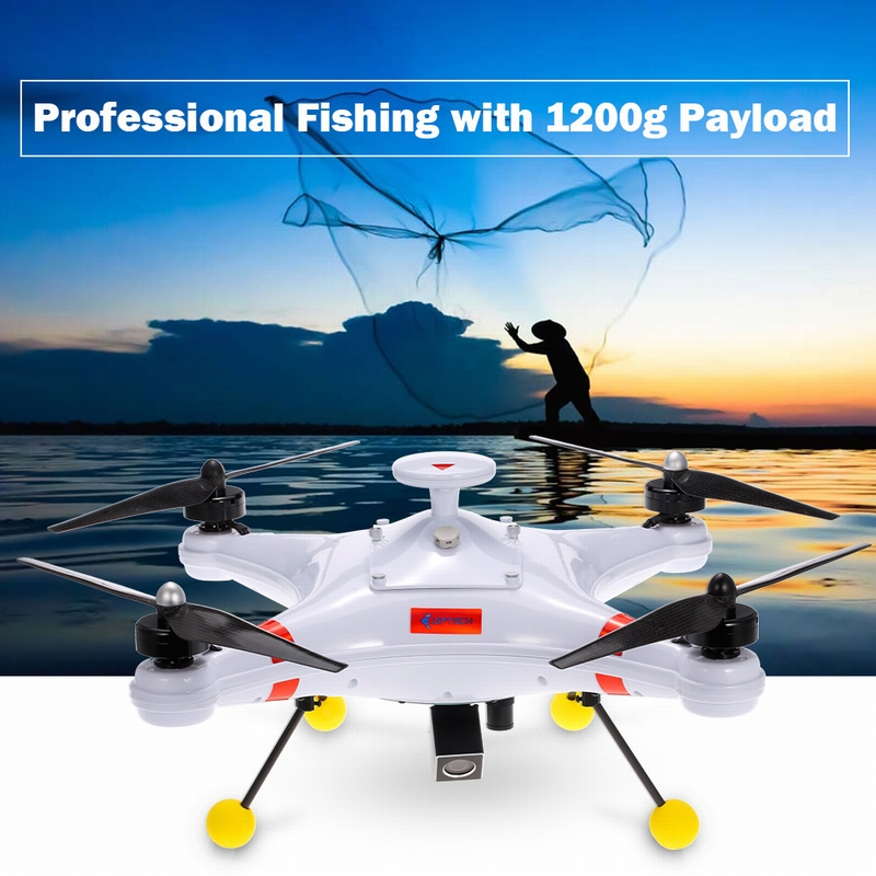 Get $30  Off For IDEAFLY Poseidon-480 Brushless 5.8G 700TVL Camera FPV GPS Quadcopter Waterproof Professional Fishing Drone RTF with code   Only $729.99 +free shipping
