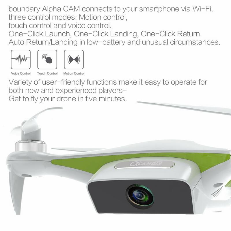 SUNLYTECH Alpha CAM Wifi FPV Brushless RC Quadcopter