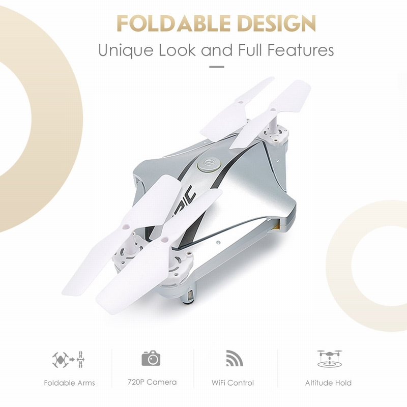 $5 OFF JJRC H44WH Selfie Drone WIFI,free shipping $37.99