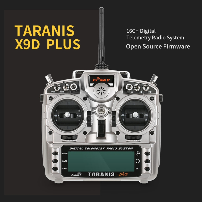 Get $10 Off For FrSky Taranis X9D Plus 2.4G Transmitter with code  Only $225.99 +free shipping