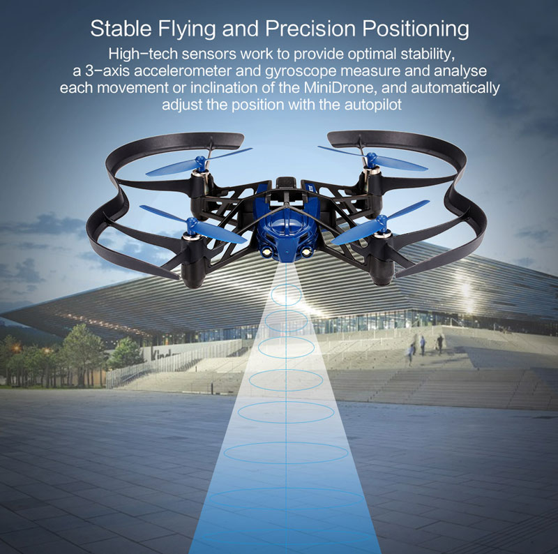 $5 OFF Parrot Minidrone Airborne RC Quadcopter,free shipping $64.99