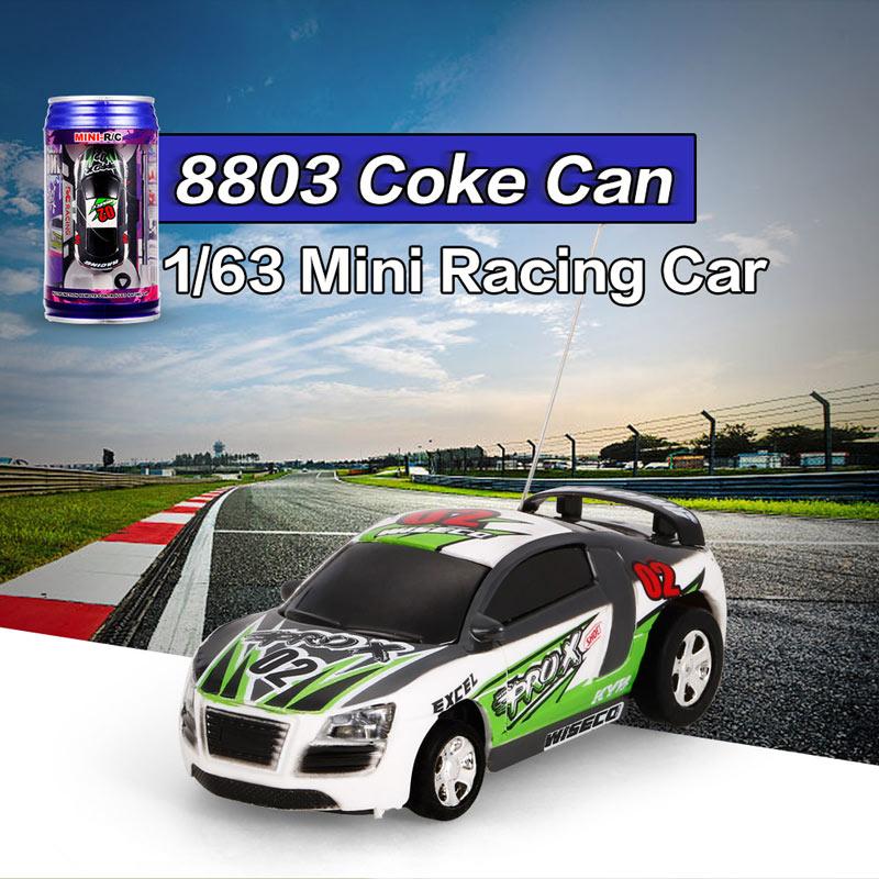 7.99$ for Coke Can 1/63 Speed Mini Racing Radio Control Car