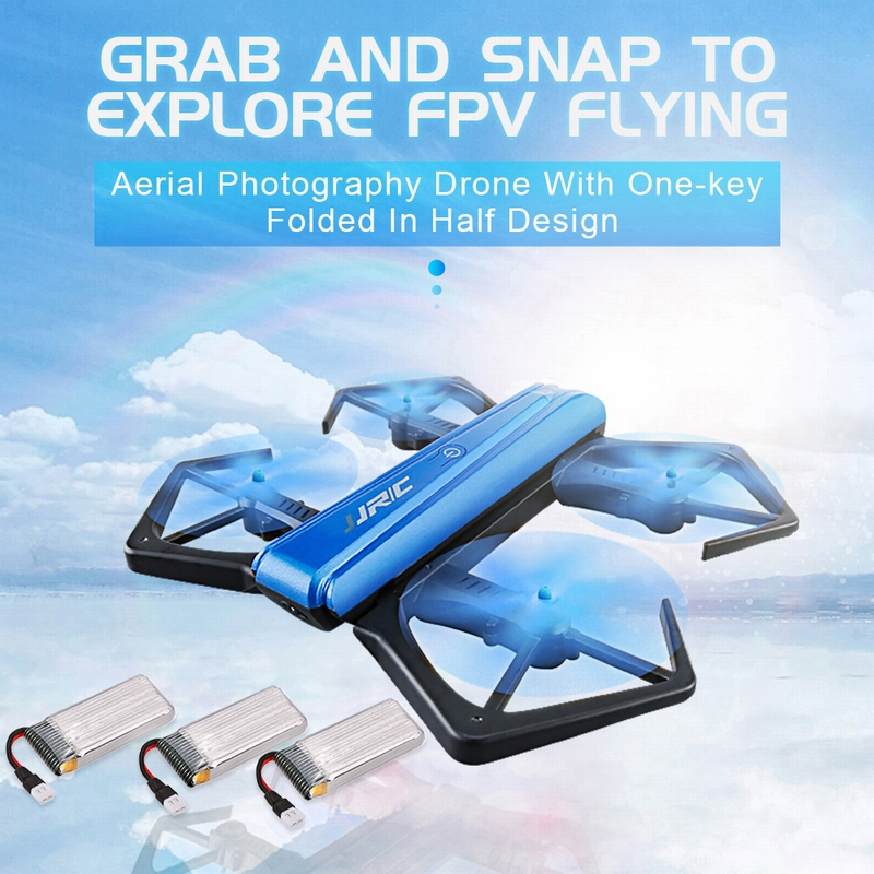 Only $39.99 For JJR/C H43WH CRAB HD Camera Quadcopter with code H43JJ6