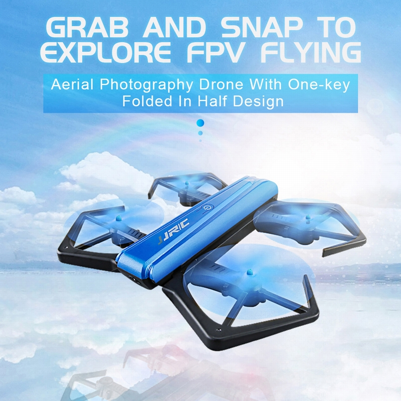 Get  $4 Off For Original JJRC  H43WH CRAB WIFI FPV 720P HD Camera Quadcopter Foldable G-sensor Mini RC Selfie Drone  with code  Only $41.99 +free shipping