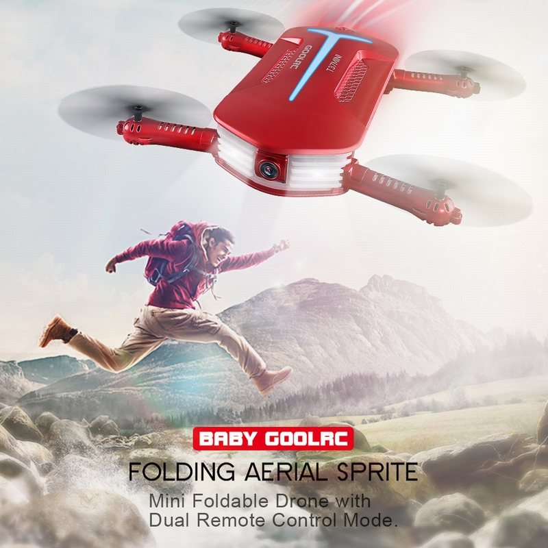 Only $29.99 For GoolRC T37 720P HD Camera Quadcopter with code GRTM6