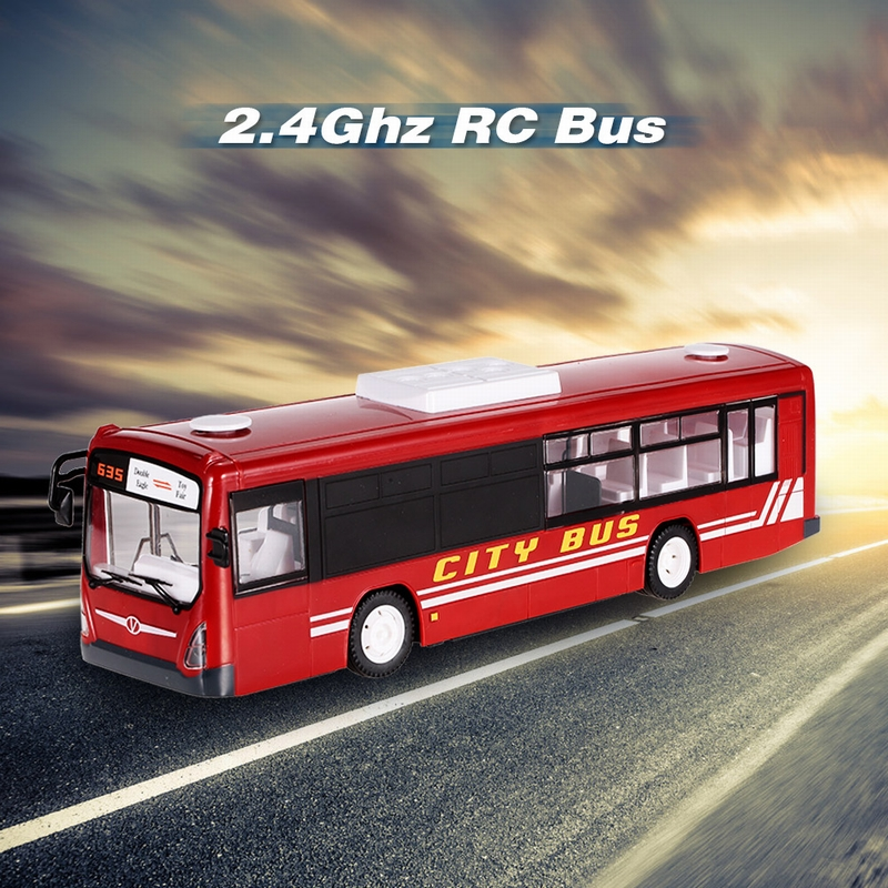 Get $10 Off For 2.4G RC Bus RTR RC Opening Door Car LED Light Simulation with code  Only $29.99+free shipping