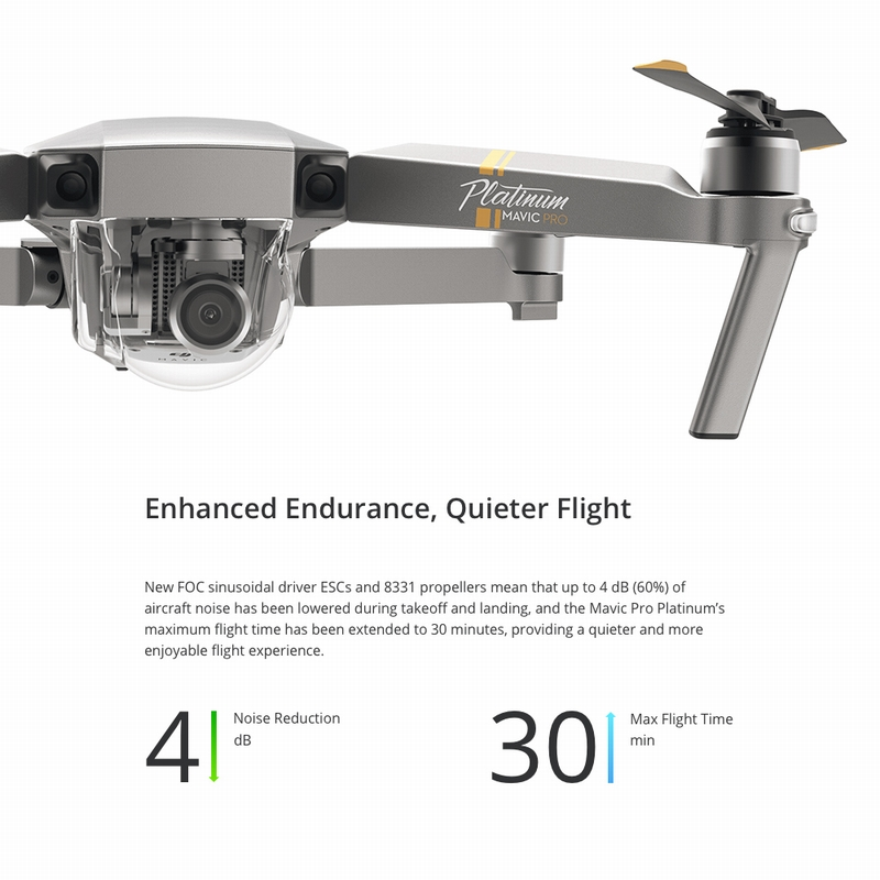 5125-OFF-DJI-Mavic-Pro-Platinum-Foldable-Obstacle-Avoidance-Dronelimited-offer-2499999