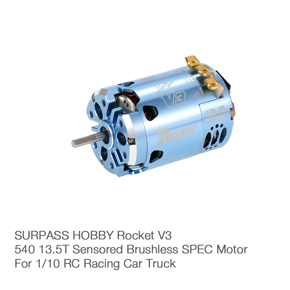 Surpass Hobby Rocket V3 540 13 5t Sensored Brushless Spec
